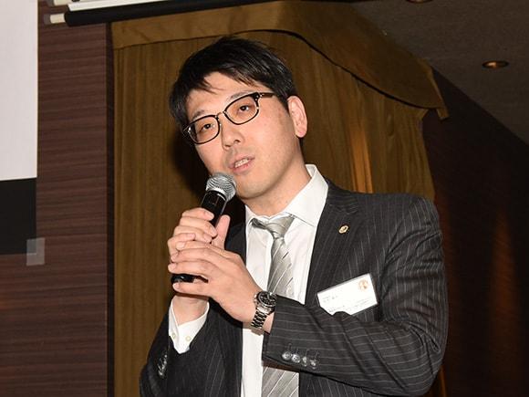 当協会の副会長であり弁護士でもある田代耕平氏の一本締め