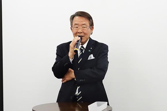 特定非営利活動法人 全国調査業協会連合会会長 松谷廣信氏