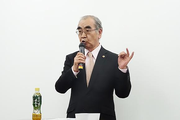 一般社団法人 全日本総合調査業協会 会長 松本耕二氏
